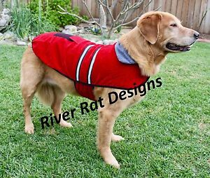 Reflective-Fleece-warm-pet-DOG-Coat-Winter-Jacket-Clothes-Sweater