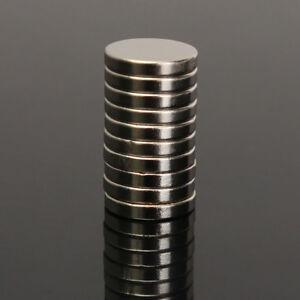 10X-10X2MM-N50-Super-Stark-Rund-Scheibe-Bloecke-Selten-Erde-Neodym-Magnet-Faddis