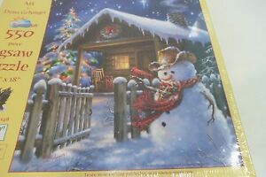 Christmas Cheer a 550-Piece Jigsaw Puzzle by Sunsout Inc. Dona Gelsinger