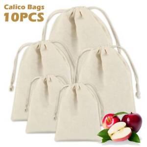 30X-Large-Cotton-Drawstring-Storage-Bag-Toiletry-Travel-Wash-Home-Laundry-Sack