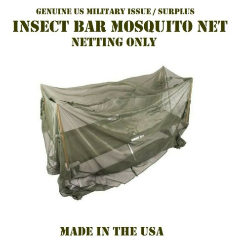 VGC US MILITARY MOSQUITO BUG NET INSECT BAR CAMO NETTING COT COVER SNIPER VEIL
