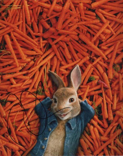 James Corden Peter Rabbit Autographed Signed 8x10 Photo COA