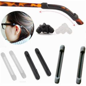 Fast Deliver 1 Pair Beautiful Glasses Sunglasses Slip Sets Glasses Leg Sets Anti Slip Silicone Ear Hook Temple Tip Holder Hook Men's Glasses Apparel Accessories