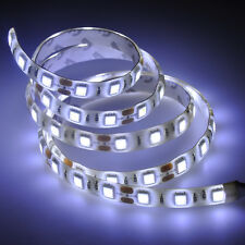 1M/60LED Cool White 5050 SMD Waterproof LED Strip Lights Flexible Light DC 12V