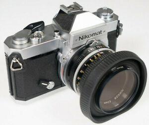Nikon Nikomat FT2 5092098 mit Nikkor 50mm Lens Body Objektiv Analog vintage