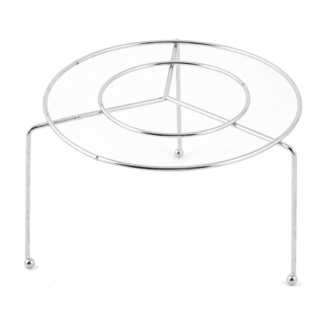 Stainless Steel Food Steaming Stand Steamer Rack 11.5Cm Dia Z8F9