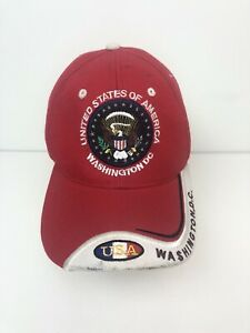 Washington-DC-USA-Baseball-Cap-Hat-Embroidered-Adult-1-Size-Adjustable-Strapback
