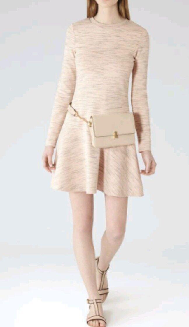 Designer REISS Bessy casual sweatshirt dress size 10 10 10 --BRAND NEW--long sleeve efd9a2