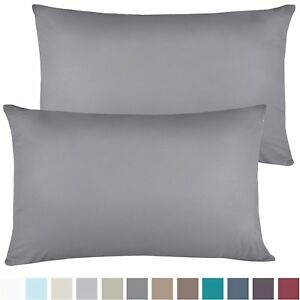 1200-SERIES-PILLOWCASES-2-Pillow-Cases-Per-Set-King-Size-Standard-Size-SALE