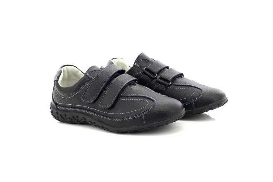 Boulevard L924A Cuir black Très Très Très Grand Eee pour shoes de Sport 45194e