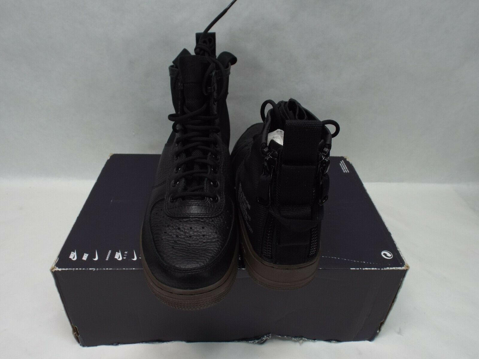 New Mens 10.5 NIKE SF AF1 Mid Military Boots Boots Boots Black Hazel shoes  160 917753-002 955e0f