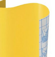 Solid YELLOW Color Vinyl Contact Paper Sheet Shelf Drawer Liner Peel & Stick