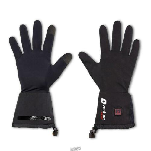 VENTURE HEAT Heated Lightweight Glove Liners Rechargeable touchscreen Size M