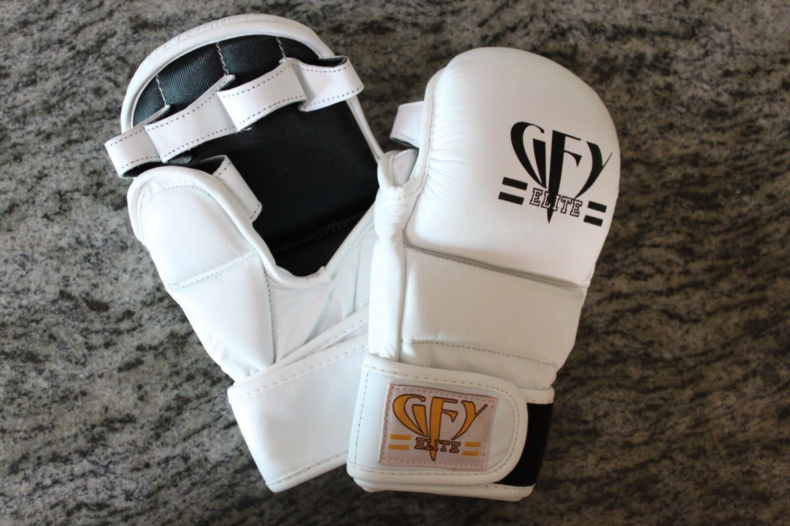 GFY ELITE MMA Leather Training G s All  Sizes  free and fast delivery available