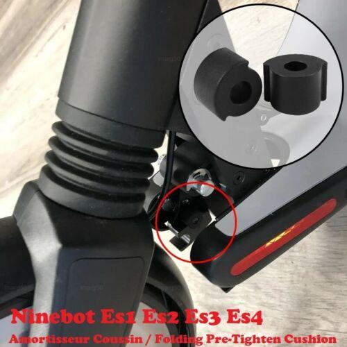 2x Coussin Amortisseur Pliable Anti-Vibration Caoutchouc Ninebot ES1,ES2,ES3,ES4