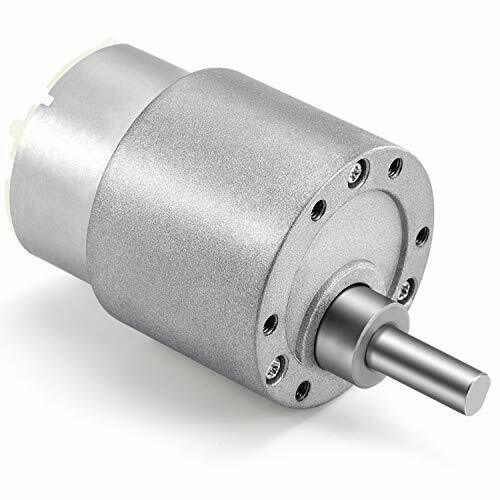 18 Kind DC12V//24V Gear Motor Speed Reduction Geared Motor 37mm Diameter Gearbox