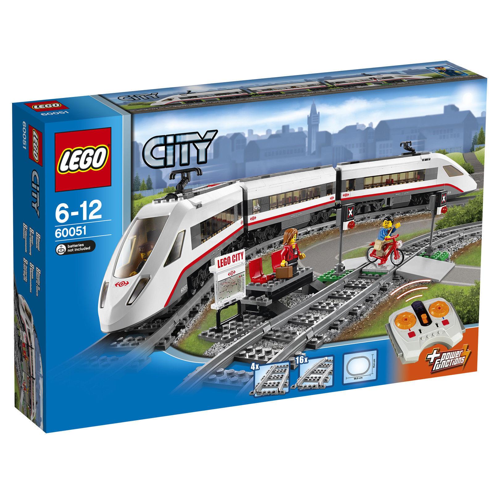 LEGO® City Hochgeschwindigkeitszug (60051) NEU OVP