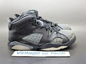 ccfb72e3852c03 Nike Air Jordan VI 6 Cool Grey Retro 2016 BP Preschool 384666-010 sz ...