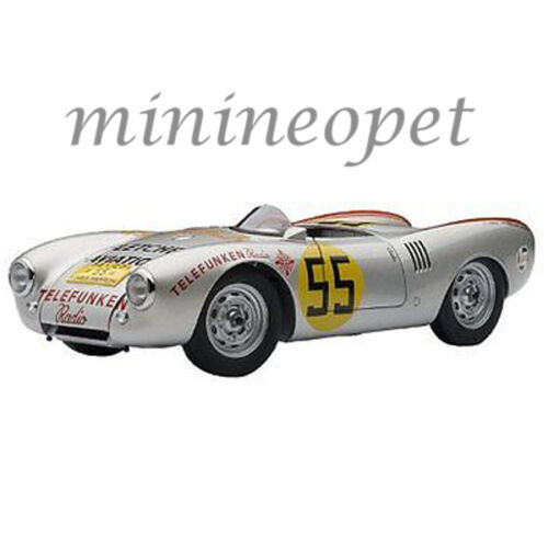 AUTOart 85470 PORSCHE 550 1500 SPYDER PANAMERICANA 1954 #55 HANS HERMANN 1/18 S