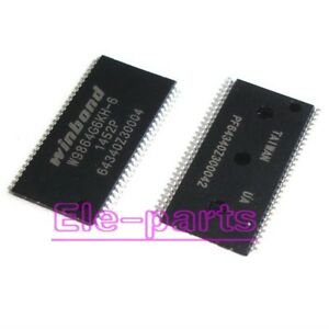 5 PCS W9864G6KH-6 TSOP54 W9864G6 1M X 4 BANKS X 16 BITS SDRAM
