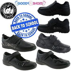 School Shoe Sizes 8-6 Kids Buckle My