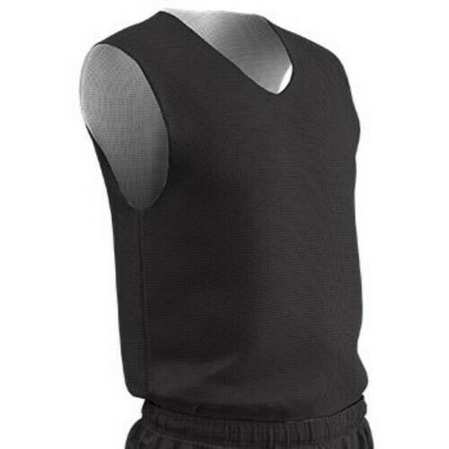 Champro Adult Reversible Basketball Jersey Small Black White Men/'s