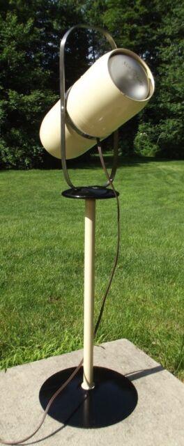 RETRO FLOOR LAMP Vintage Westinghouse SELECT-O-RAY sun heat light MCM ATOMIC