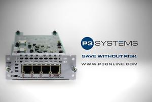 CISCO-NIM-4FXO-4-port-Network-Interface-Module-FXO-Universal-TESTED