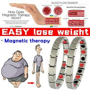 Men-Alloy-Therapy-Energy-Magnetic-Bracelet-Pain-Relief-Health-Care
