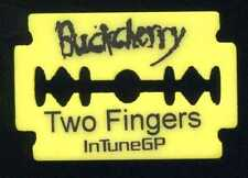 BUCKCHERRY 2009 Kiss Tour Guitar Pick!! JIMMY ASHHURST custom concert stage Pick