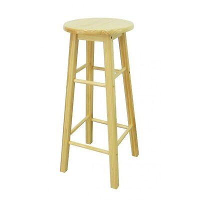 4 x bar Tabouret pin de en bois kieferstühle NEUF