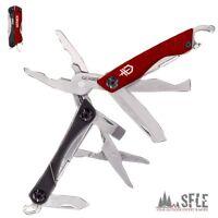 Gerber Dime Micro Tool, Red, Multi-tool, 12 Funktionen, Kompakt