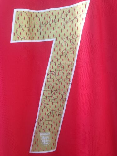 Beckham Angleterre Sign Beckham Angleterre H05wqHR