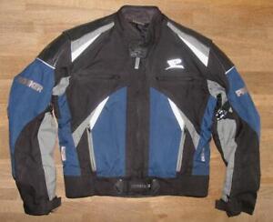 """"""" PROBIKER """" Herren- Motorrad - Textiljacke / Biker- Kombi- Jacke in Gr. 50"""