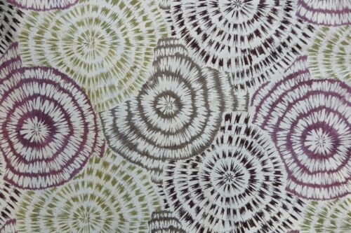 "HARLEQUIN CURTAIN FABRIC /""Spirea/"" 3 METRES SAGE//CLARET//CHOC//PEWTER EMBROIDERED"