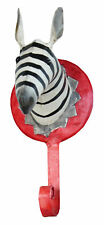 Garderobenhaken Metall Zebra Kleiderhaken Wandhaken Garderobe Serie Wildlife