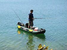 INFLATABLE DINGHY RIGID INFLATABLE DINGHY INFLATABLES BOAT KAYAK FISHING ROD