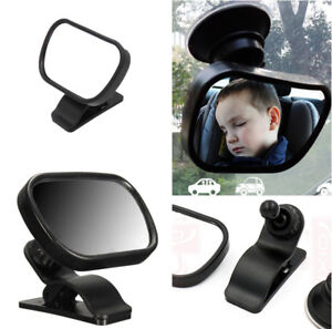 1X Baby Mirror Car Back Seat Cover for Infant Child Rear Ward Safety View Toys-l