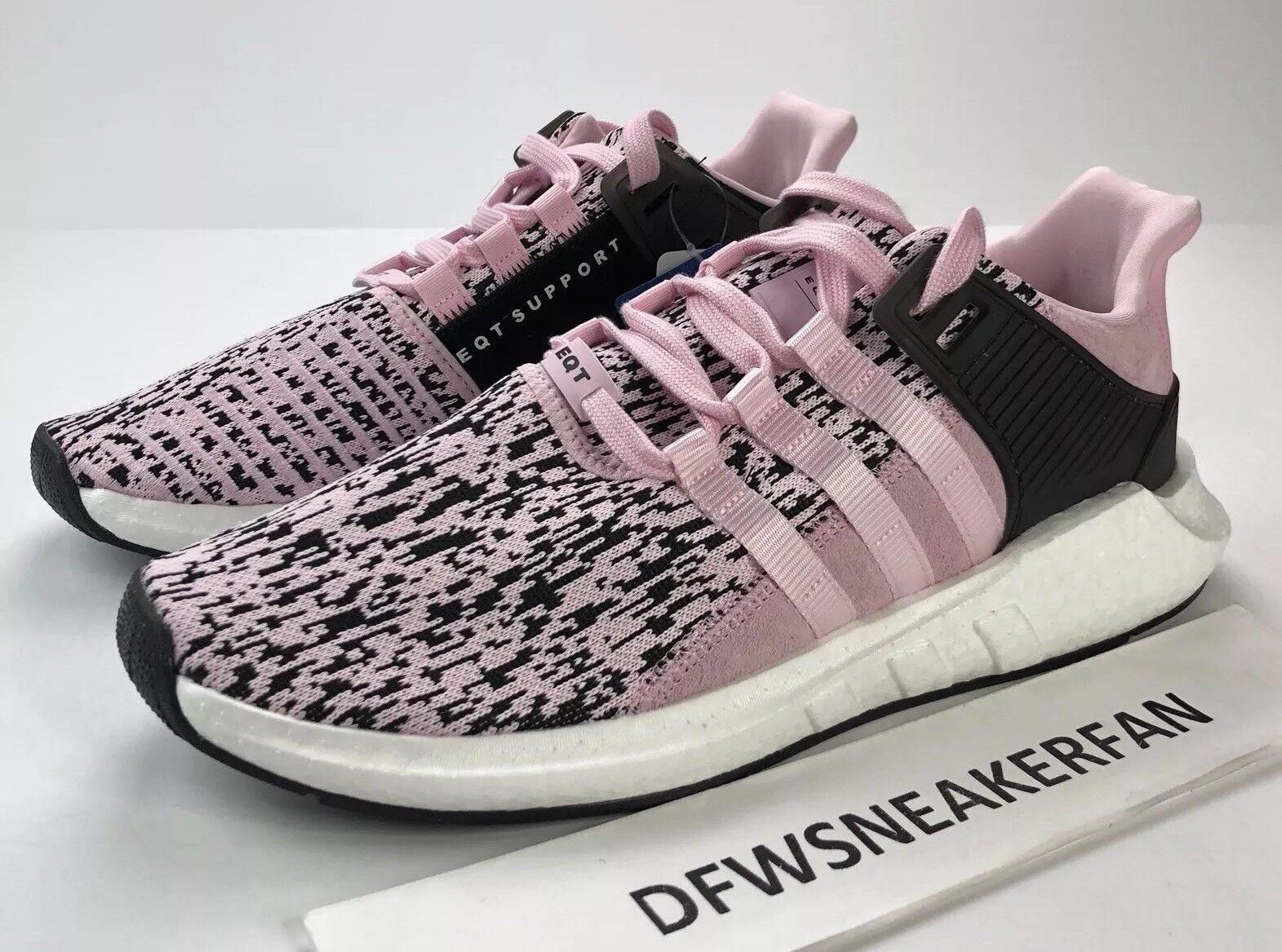 Adidas EQT Support 93/17 BOOST Uomo Size 12 Primeknit Pink Glitch Camo PK BZ0583