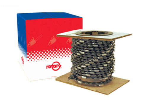 .325 Full Chisel Chain 100 ft Roll 7344001 Bulk Chainsaw Chain .063
