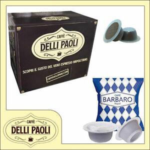 100-capsule-Delli-Paoli-100-Barbaro-compatibili-per-Bialetti-Opera-e-altre