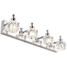 Led Bathroom Vanity Light Fixtures With On Off Switch Chrome Stainless Steel In For Sale Online Ebay
