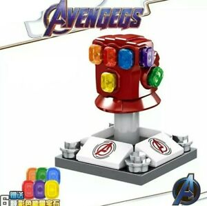 Avengers Endgame Stark Iron Man Red Nano Infinity Gauntlet
