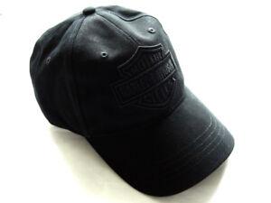 Harley-Davidson-Phantom-Ghost-Baseball-Cap-Kappe-Muetze-Schwarz-99415-16VM