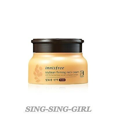 Innisfree Soy Bean Firming Neck Cream 80ml sing-sing-girl