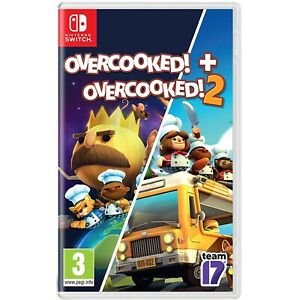 Overcooked! Special Edition + Overcooked! 2 - Nintendo Switch - Region Free