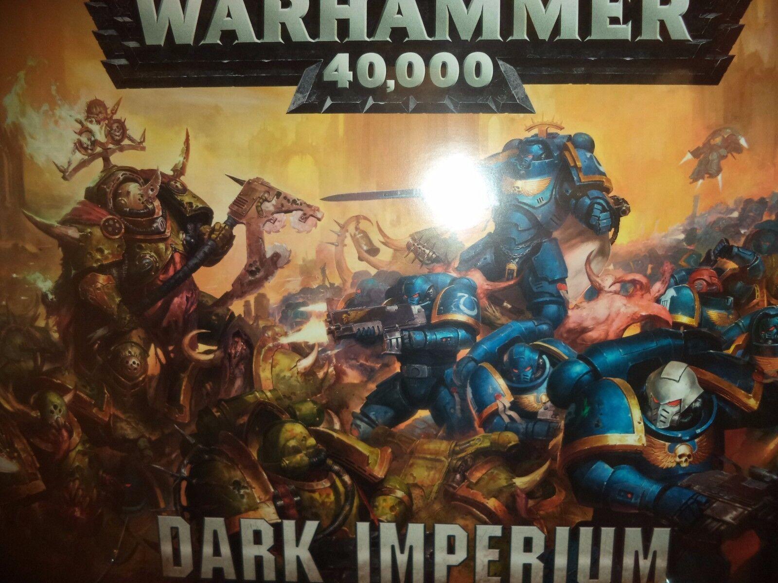 Imperium Box Set Oscura Warhammer 40k 8th Edición Juego Taller 40,000  nuevo