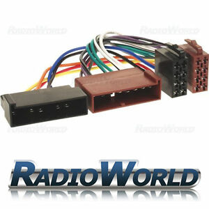 ford fiesta car stereo radio iso wiring harness connector adaptor rh ebay com ford wiring harness connector parts Ford Wiring Harness Kits