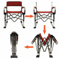 Light Weight Aluminum Frame Camping Outdoor Folding Director Chair on sale
