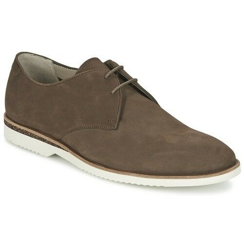 Clarks Mens braun Nubuck Leather Tulik Free Lace Up schuhe, UK 7 EU 41,